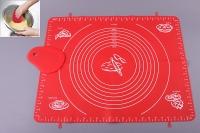 Силиконовый коврик для выпечки 50х40 см