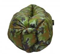 Надувной ламзак диван гамак ЛамзакФрут камуфляж, длина 2,4/2,2м, до 300 кг