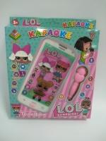 Интерактивный телефон LOL (Лол) Караоке с Микрофоном