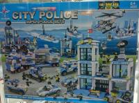 Конструктор LX.A 329 City Police Station 2321 дет. Весь Полицейский город