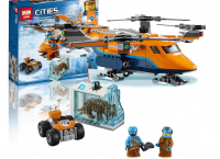 Конструктор 28023/ 10994 Cities Archtic 296/ 289 дет. Арктический вертолет