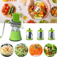 Мультислайсер для овощей и фруктов Household Rotary Cutting Machine 3в1