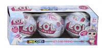 Кукла  LOL (Лол) - Серия Единорог 3в1
