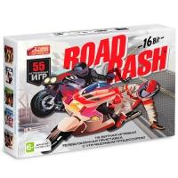 Sega Super Drive Road Rash (55-in-1) 16bit Black