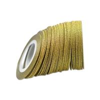 Нить на клеевой основе (золотая) - 2 мм