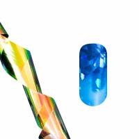 Фольга для литья (синие осколки) NEW