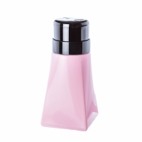 Пластиковый дозатор пирамида (помпа 200 мл.) розовый