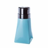Пластиковый дозатор пирамида (помпа 200 мл.) голубой
