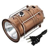 Фонарь 2в1 с солнеч.батареей GSH-9688 8 LED + 3W White/Warm LED