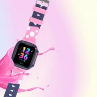Smart baby watch Y92 Pink Розовый