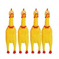 Кричащая большая курица Антистресс 40 см Crazy Chicken