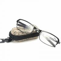 Складные увеличительные очки - лупа Фокус Плюс +2-2.50 + футляр