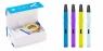 3D ручка Spider Pen SLIM, Фиолетовая, книга трафаретов + 3х3.5м пластик (3300F)