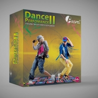 Танцевальный коврик Aspel для 2-их (двоих) 32 бита. Dance Perfomance II (Let's Dance)
