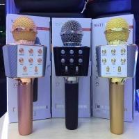 Беспроводной Микрофон Караоке Wster WS-1688 USB, FM, Bluetooth