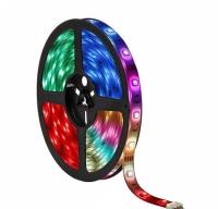 Светодиодная лента с пультом (блистер) 5м 14,4Вт RGB 5050-60