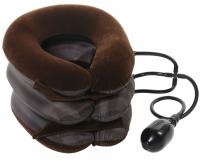 Лечебный надувной Воротник для шеи, мягкий полуфлок