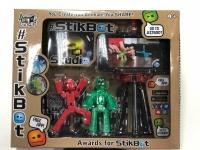 Стикбот Stikbot Studio 2105, набор 2 героя + штатив