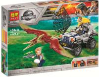 Конструктор 10921 Dinosaur World  138 дет. Погоня за птеранодоном