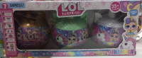 Кукла LOL (Лол) - Серия Единорог 3в1 Полусферы