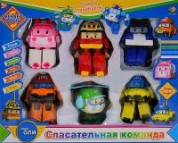 Набор Поли Робокар 6в1 Спасательная команда