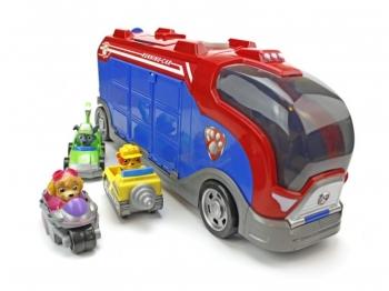 Щенячий патруль Автобус спасателей + 3 героя на Авто