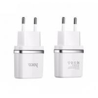 Зарядное уст-во с кабелем C12 2.4A Smart dual USB (Type C cable) charger set