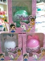Кукла  LOL (Лол) - Полусфера Единорог Unicorn 10см 1 шт