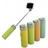 Беспроводная bluetooth колонка 4в1 Wireless Speaker + Selfie Stick + Power Bank 2000mAh + фонарик