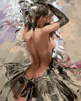 Картина по номерам ZX 23412 Танцовщица самбы 40*50