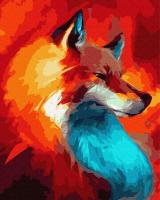Картина по номерам ZX 23937 Рыжая 40*50